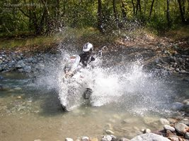 Moto Adventures - River Crossing - Motoadventures.gr
