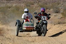 Dual Sport Sidecar! - This is from the 2001 L.A. to Barstow to Vegas dual s...